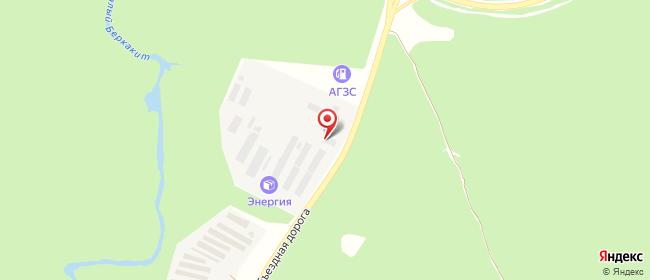 Карта расположения пункта доставки DPD Pickup в городе Нерюнгри