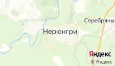 Гостиницы города Нерюнгри на карте