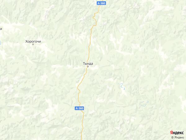 село Первомайское на карте