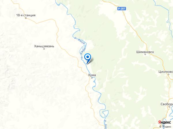 село Ушаково на карте