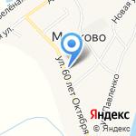 Марковская средняя общеобразовательная школа на карте Благовещенска