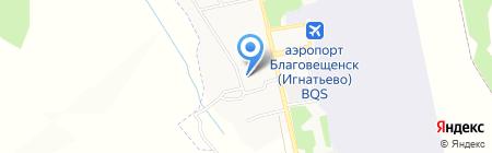 Средняя общеобразовательная школа №13 на карте Игнатьево
