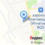 Детский сад №49 на карте Благовещенска