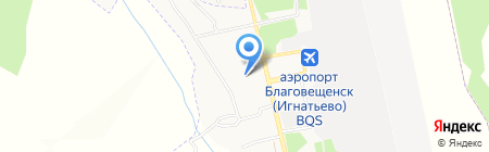 Почтовое отделение №19 на карте Игнатьево