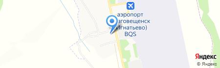 Продовольственный магазин на карте Игнатьево