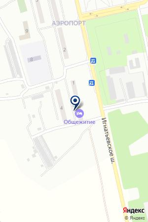Благовещенский линейный отдел полиции на карте Аэропорта