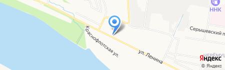 Минимаркет на карте Благовещенска