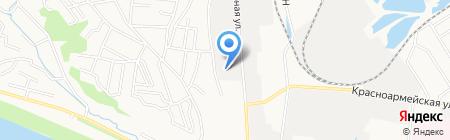 Мегаокна на карте Благовещенска