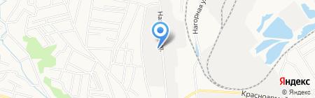 База Нагорная 10 на карте Благовещенска