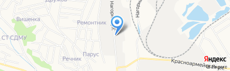 Амурская на карте Благовещенска
