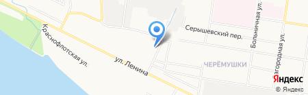 Местный на карте Благовещенска