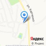 Юлия на карте Благовещенска