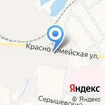 Новосел на карте Благовещенска