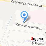 СИЗО-1 на карте Благовещенска