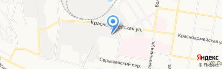Артис-ДВ на карте Благовещенска