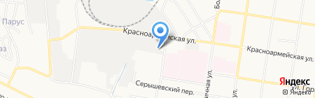 Амурский завод металлических конструкций на карте Благовещенска