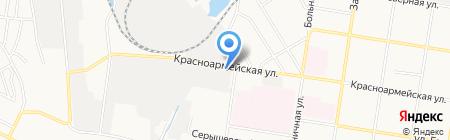 Кузнечный цех на карте Благовещенска
