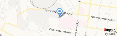 СЕРТЕКС АМУР на карте Благовещенска