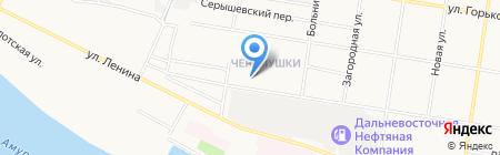 Россия-24 на карте Благовещенска