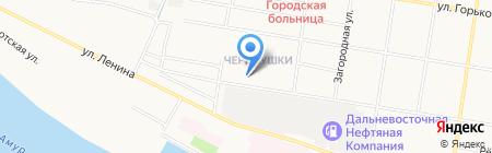 ПИТБУЛЬ на карте Благовещенска