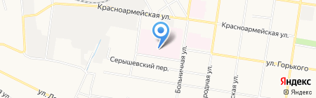 Амурская областная психиатрическая больница на карте Благовещенска