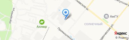 MX group на карте Благовещенска