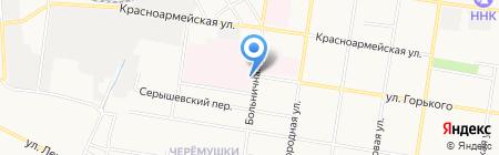 Банкомат АКБ Росбанк на карте Благовещенска