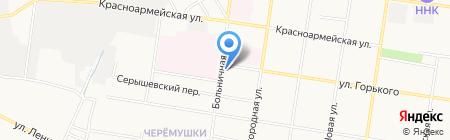 Гелиопак на карте Благовещенска