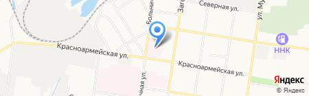 Детская городская клиническая больница на карте Благовещенска