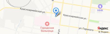 Детский сад №61 на карте Благовещенска
