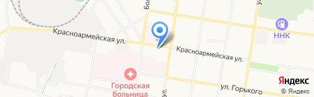 Почтовое отделение №7 на карте Благовещенска