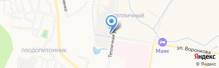 Производственно-монтажная компания на карте Благовещенска