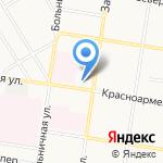 Специальная коррекционная общеобразовательная школа №7 на карте Благовещенска