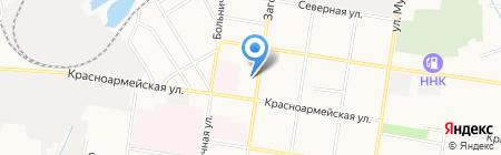 Управление ГО и ЧС г. Благовещенска на карте Благовещенска
