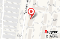 Схема проезда до компании OZON.ru в Подольске