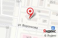 Схема проезда до компании Emex в Чернореченском