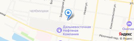 АУК на карте Благовещенска