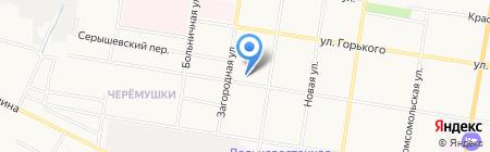 Компания внешнеэкономической деятельности на карте Благовещенска