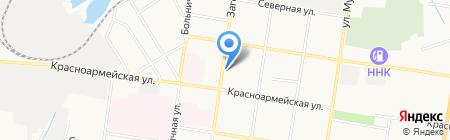 Гостиничный комплекс на Загородной на карте Благовещенска
