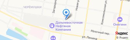Шиномонтажная мастерская на Зейской на карте Благовещенска