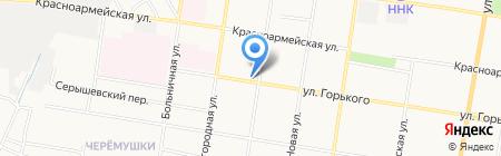 МКС на карте Благовещенска