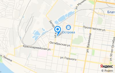 Местоположение на карте пункта техосмотра по адресу г Благовещенск, ул Северная, д 167, пом 1