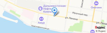 ДВВКУ на карте Благовещенска