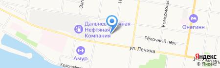 Василиса на карте Благовещенска