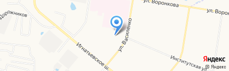 ЖКХ Амурстрой на карте Благовещенска