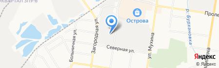 Полигран на карте Благовещенска