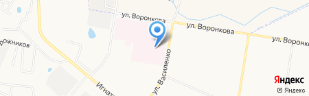 Благовещенская центральная районная поликлиника на карте Благовещенска