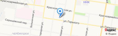 БГПУ на карте Благовещенска