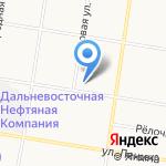 Амурская торгово-производственная компания на карте Благовещенска