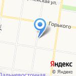 Магазин автоэмалей на карте Благовещенска